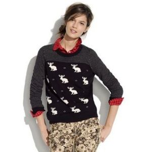 Madewell Wallace | Jackalope Sweater | Size S